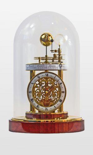 Celeste Mantel Clock - Mahogany Finish