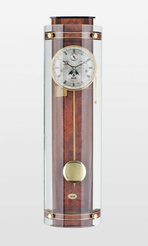 Knightsbridge Triple Chime Contemporary Wall Clock