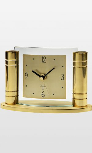 Radio Time Signal Corrected Mantel - Gold