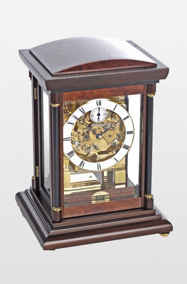Bradley Mantel Clock in Walnut Finish