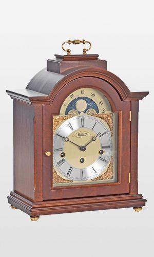 Linton Mantel Bracket Clock in Walnut Finish