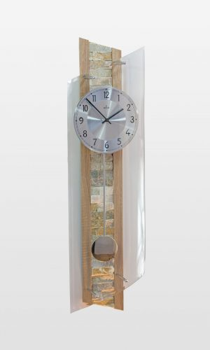 QC 9141 Stylish Tiled Radio Controlled Wall Clock