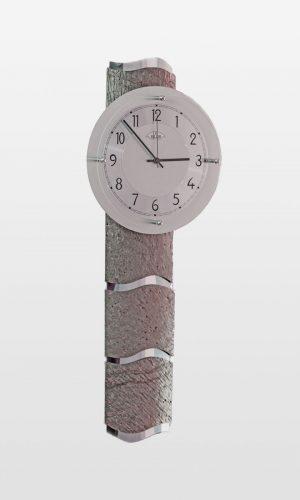 Designer Grey Stone Effect Wall Clock